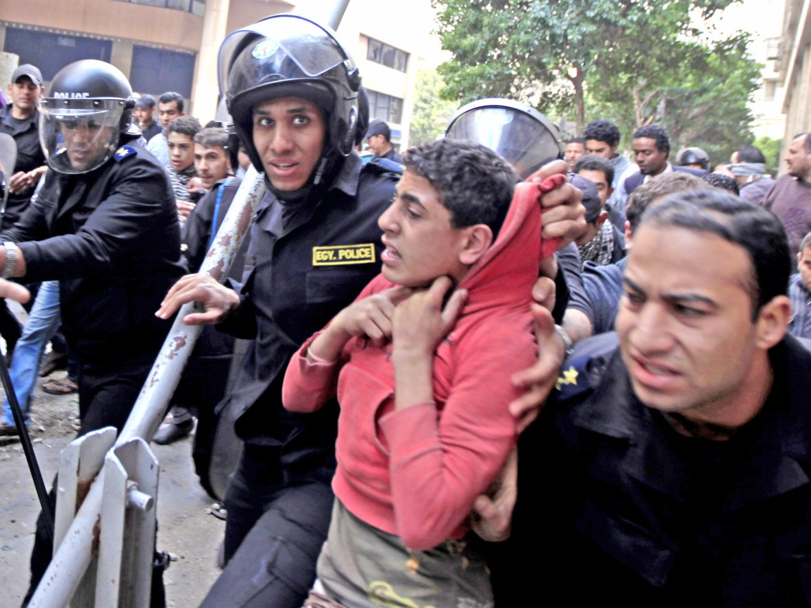 Young children detained and tortured after protests in Egypt | The Independent