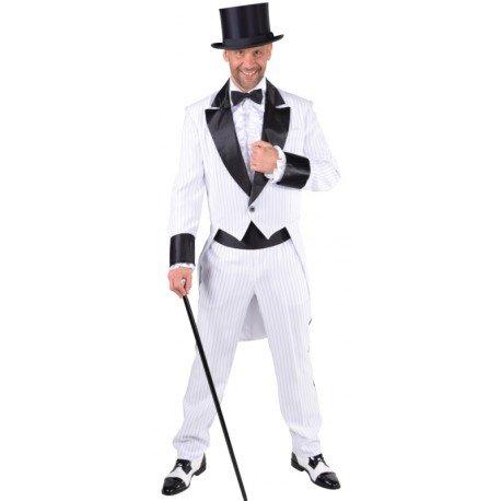 Déguisement costume cabaret homme blanc noir : Déguisements cabaret