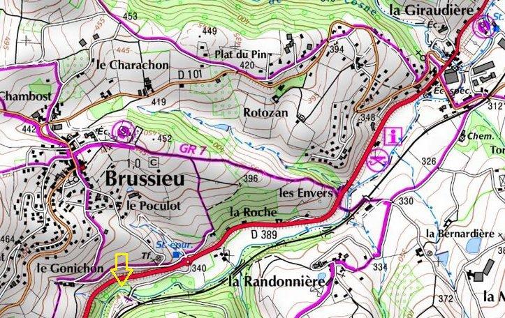 Renfort d'épis et création de caches sur la Brévenne.