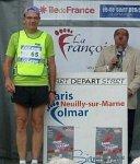 Raymond Fauqueur fait l'exigeant apprentissage de Paris-Colmar - - Lavoixdessports.com