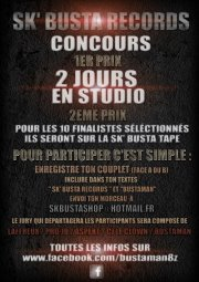 CONCOURS SK' BUSTA RECORDS