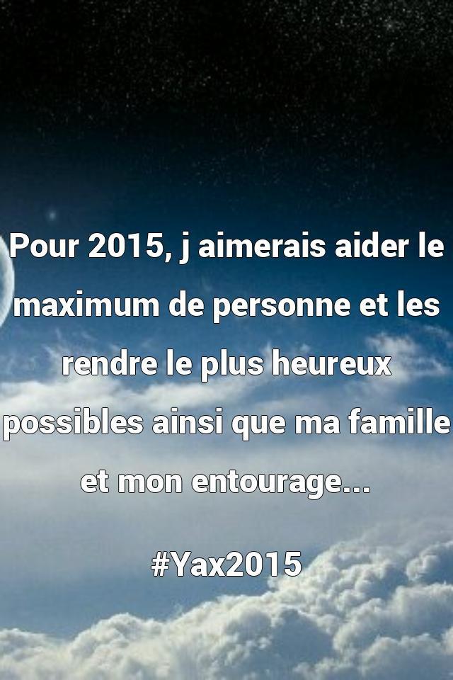 Partage tes pensées en liberté avec YAX!