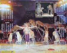 Calendrier La Poste 2005 Cirque PINDER - Circus, Pinder