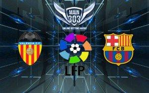 Prediksi Valencia vs Barcelona 1 Desember 2014 Primera Divis