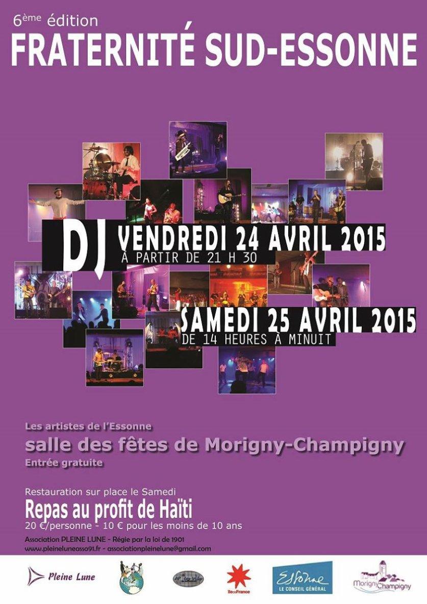 (38) Fraternité Sud Essonne le 24 et 25 avril 2015