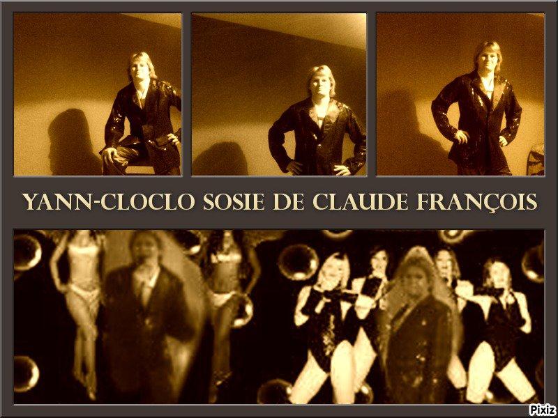 SOSIE DE CLAUDE FRANCOIS - sosie de claude françois YANN-CLOCLO SUCCES STORY