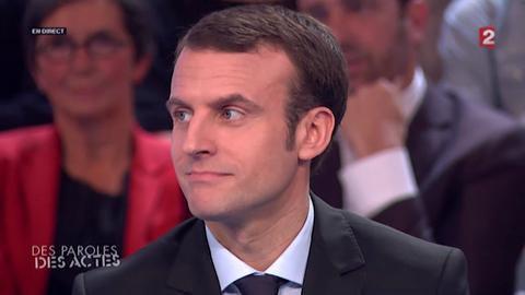 Macron répond à la pique de Sarkozy sur sa cravate