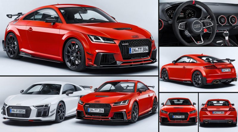 Cars to bet on: Audi R8 Performance Parts and TT RS Performance Parts