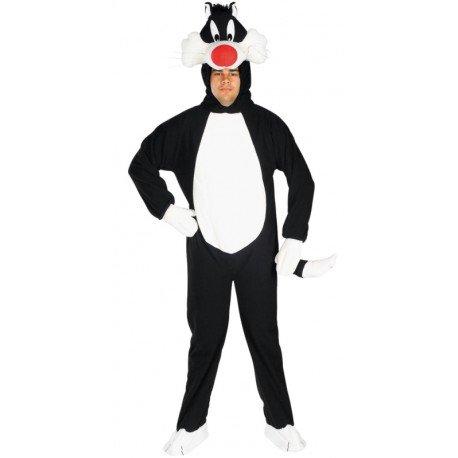 Déguisement Grosminet™ adulte Looney Tunes déguisement Chat Grosminet
