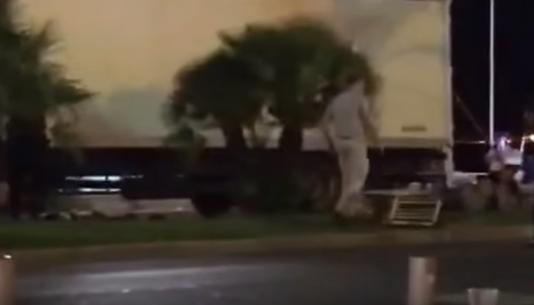 Attentat de Nice : une vidéo manipulée fait croire que le terroriste a été capturé vivant