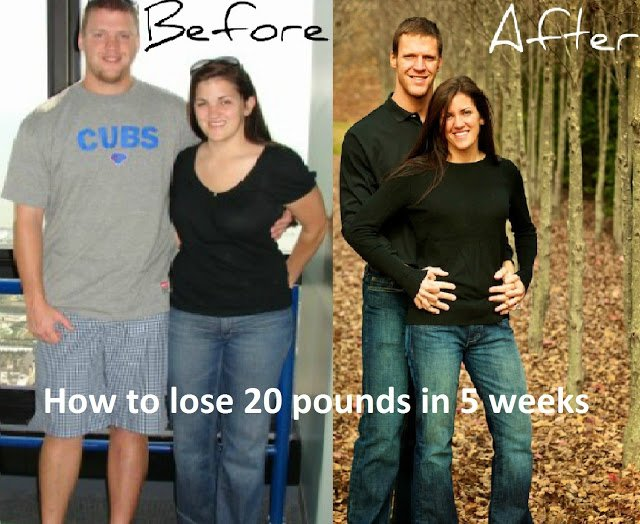 """How to lose 20 pounds in 5 weeks """"EASY"""""""