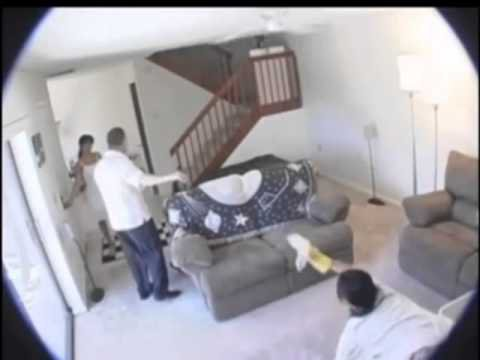 jealous boyfriend gets hidden camera in his girlfriend's house and look what she does with her boyfriend's best friend…
