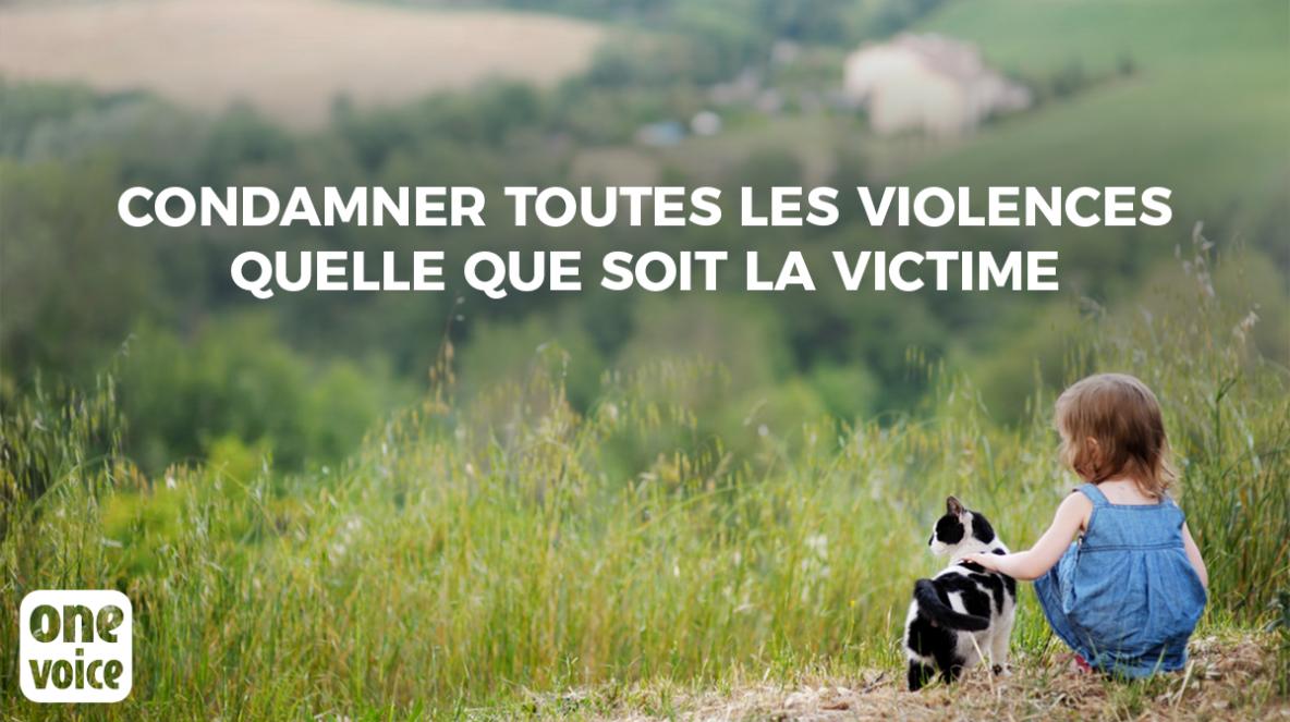 Petition - Condamner toutes les violences quelle que soit la victime