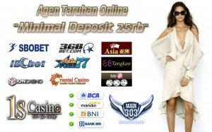 Agen Taruhan Online Minimal Deposit 25rb | Main303