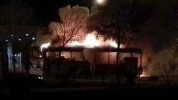 17 morts dans l'incendie d'un bus en Chine: un suspect arrêté