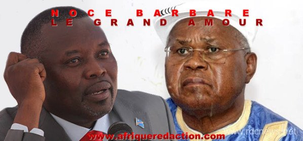 Coup de gueule de Roger BONGOS qui d'ailleurs avait raison de recevoir avec Freddy Mulongo, Vital KAMERHE dans le cadre de leur profession...
