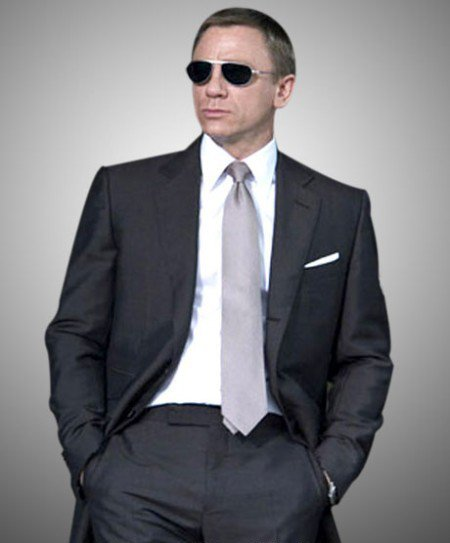 James Bond Suit from Quantum Of Solace