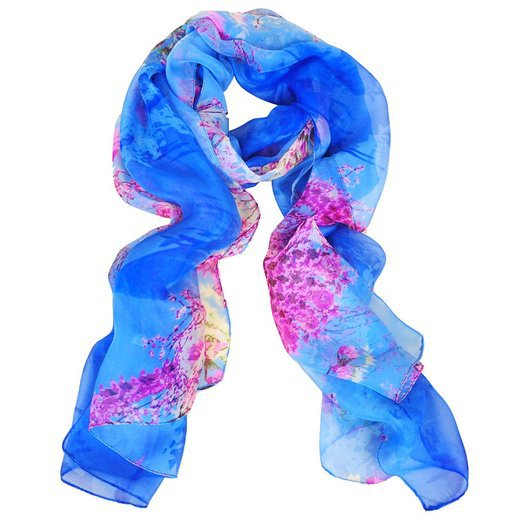 Women's Neck Scarf Handkerchief Muffler