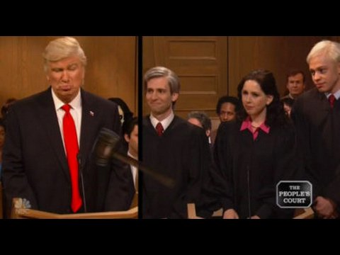 SNL- Trump in People's Court - Feb 11, 2017 - YouTube