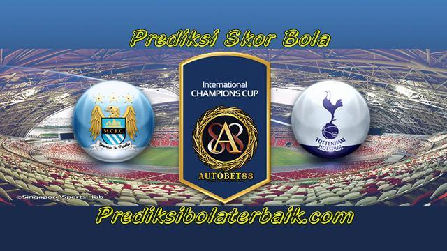 Prediksi Manchester City vs Tottenham Hotspur 30 Juli 2017 - Prediksi