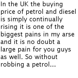 distribúcia pohonných hmôt