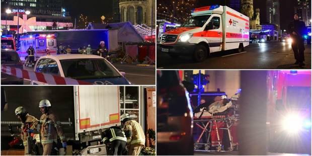 Nouvel attentat islamiste ; un camion fonce dans un marché de Noël à Berlin