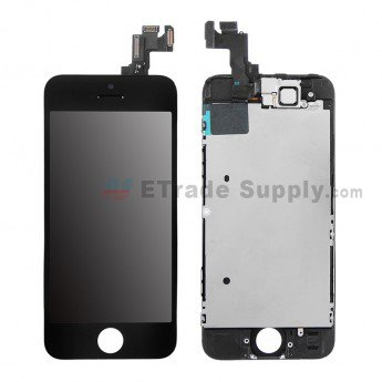 Apple iPhone 5S LCD Screen and Digitizer Assembly with Frame - ETrade Supply