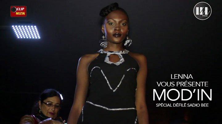 Lenna vous présente le Défilé Mode Sadio-Bee dans l'émission Mod'In