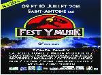 Annonce 'Fest Y musik 2ème édition'