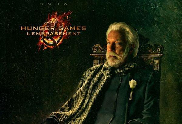 Hunger Games 2 - L'Embrasement : Les 11 affiches françaises des personnages - Unification France