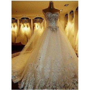 Robe de mariée swarovski , mariagefabuleux.com
