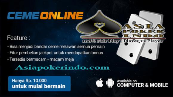 Situs Bandar Ceme Online Deposit 10rb | Poker Indonesia