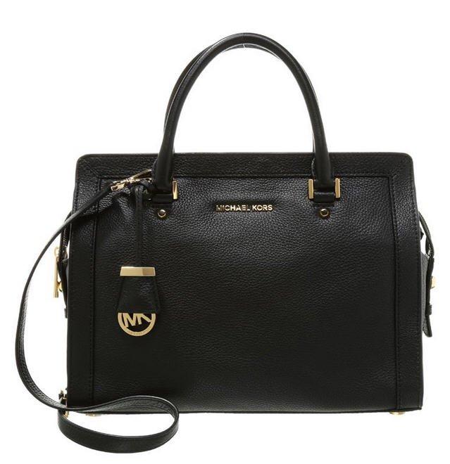 michael michael kors collins sac main black sacs zalando tendance mode femme. Black Bedroom Furniture Sets. Home Design Ideas