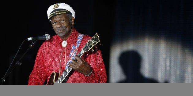 Décès de Chuck Berry, légende créatrice du rock'n'roll