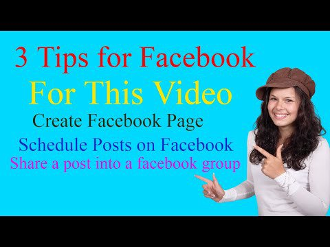IT Support Hindi: How to create Facebook Page | How to Suhedule posts on facebook | Share a post into a facebook group