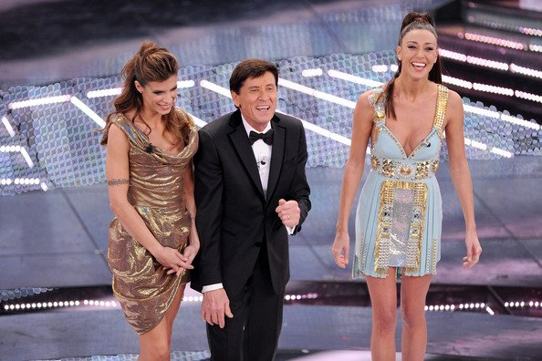 STAR PEOPLE CROWN: GIANNI MORANDI SINGER ITALIAN IN SAN REMO ITALY