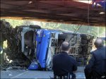 Double-decker bus crashes in New York; 4 killed