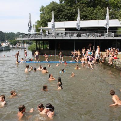 Namur: la commune abandonne la plage d'Amée