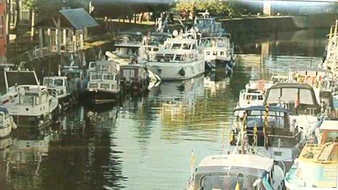 Télésambre : Expo : les voies d'eau du Hainaut - Charleroi