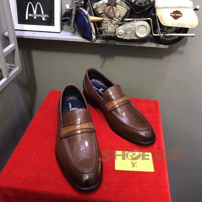 大人気再登场の2017夏ブランドコピー靴热烈推荐人気上升中,偽物Louis Vuittonブランドコピービジネスレザー 靴本物と同じ素材を選択しますNO.25817♪?...