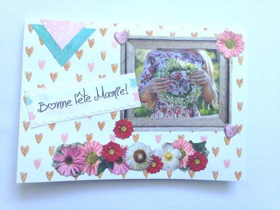 Carte pour la fête des grands mères : Cartes par del-crea-fete