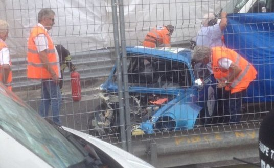 Accident aux Remparts: le pilote accidenté opéré cet après-midi