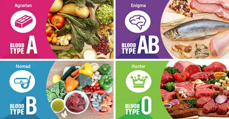 How To Eat Right For Your Blood Type - Healthy Food Society