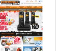 GrosBill : Spécialiste des produits high-tech, multimédia et électroménagers