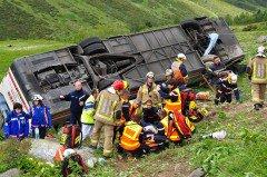 Cerdagne - Accident de bus après le Col du Puymorens : l'horreur dans le vent, la neige et le froid