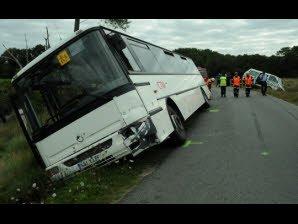 Le Télégramme - Morbihan - Accident de car. Grosse frayeur pour les enfants