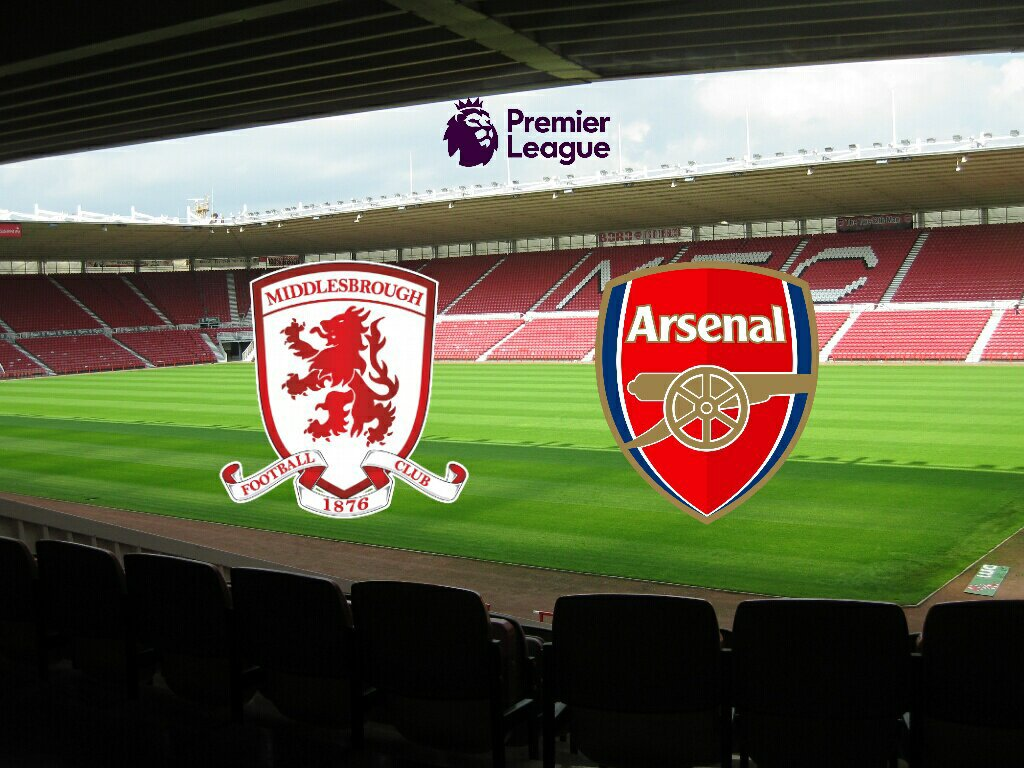 Prediksi Middlesbrough vs Arsenal 18 April 2017