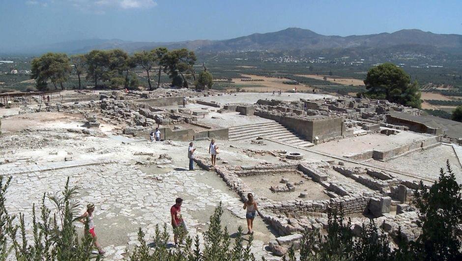 Enquête d'ailleurs Crète : aux origines du Labyrinthe