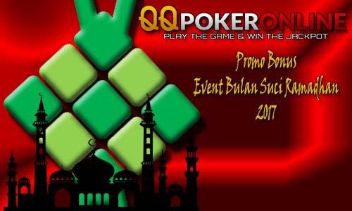 Promo Bonus Poker Online Bulan Puasa Ramadhan 2017