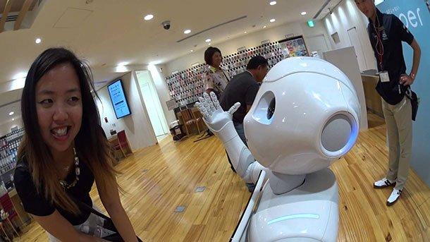 Le robot Pepper en vente aux USA à partir de l'été 2015